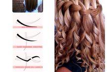 vlasy návody