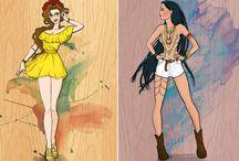 Moda da Disney