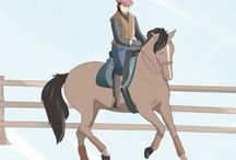 Horses! / All about horses and riding. / by Vanessa Dunleavy
