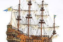 Scale model Ships