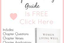 Books for Christian Women / Great books for Christian Women