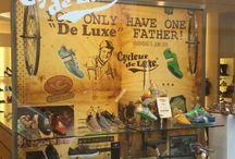 Cycleur de Luxe | Merchandising / merchandising, shoe fashion, store branding