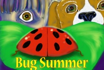Bug Summer / A series of 15 children's books for ages 3 and up, illustrated with vibrant, original art and striking macrophotography.  Meet Zack, his dog Flash, and all their friends in Inclement, Iowa as they hunt and photograph different insects all summer long!