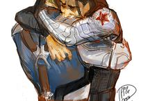 BUCKY IS SUCH A SLUT FOR DORITOS / Mostly Stucky, but invaded by some Seb Stan, Avengers love and some Marvelesque things in general (especially if it's Pietro) <3 <3