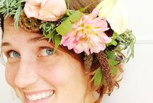 CROWNS / Flower Crowns | Wedding Flowers | Floral Design | Farm to Vase | Farmer Florist