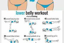 Posilování spodní části břicha