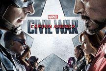 Captain America: Civil War (2016) Movie / Captain America: Civil War Movie Detail min - Action | Adventure | Sci-Fi - 2016-05-06 (USA) Director: Walt Disney Pictures Stars: Chris Evans, Robert Downey Jr., Chadwick Boseman, Daniel Bruhl, Elizabeth Olsen