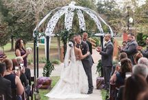 Winter Park Civic Center Weddings / Weddings at Winter Park Civic Center by Orlando wedding and engagement photographer & videographer Captured by Elle | www.capturedbyelle.com