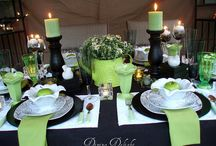 Table settings! / by Kathy Caison