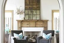 Fireplace / by Stephanie Laughlin