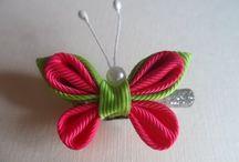 Kanzashi/origami
