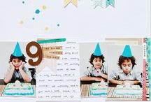 paper & glue BIRTHDAY