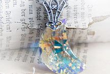 The Vintage Angel, Heirloom Treasures / Vintage fantasy jewelry, Neo-Victorian adornments, angel art, inspirational images, romantic bridal shoes and more.