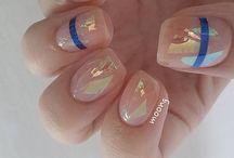 Nails - Glass Nail Art