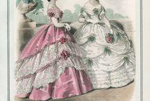 Historie odívání 1850-1869
