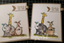 Animal outing stamp set 2018
