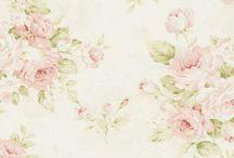 Vintage Flowers Pink