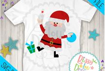 Christmas Designs - SVG DXF EPS