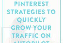 Pinterest Tips & Strategy