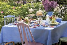Garden tea party inspiration