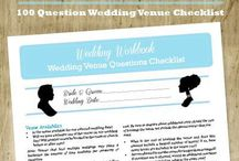 helpful hints / essential info for easy wedding planning!