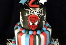 Spider Man Cakes / by Maria Andujar