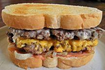 Steak and shake burgers