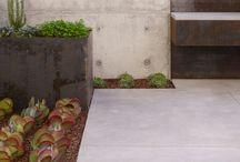 concrete grill