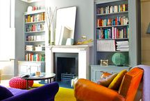 A Splash of Colour / Colours in furniture and interiors