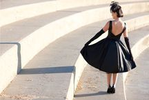 HH 1950s LBD  : Vintage Fashion / Audrey Hepburn, that little back dress and other inspiration.