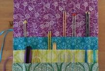 knitting accessories - herramienta de tejido a dos agujas