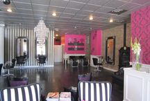 Weave Bar salon design