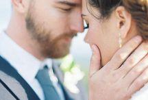 BRIDE AND GROOM / bride and groom, bridal couple, Brautpaar