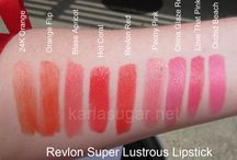 Lip swatches