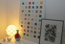 Portrait Display Ideas / Great ideas for displaying photos. Frames, albums, gifts and more.