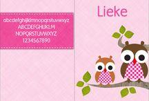 Lettertypes geboortekaartje / Bij het opmaken van uw geboortekaartje heeft u een ruime keus aan lettertypes. Van strak tot sierlijk, van speels tot zakelijk. Maak u keus, combineer eventueel en maak zo uw eigen geboortekaartje helemaal naar wens! www.geboortepost.nl