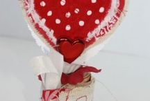 Fabric Hearts! / from shabby to chic!