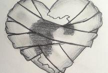 cuore stilizato