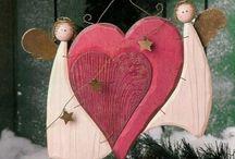 Angioletti in legno
