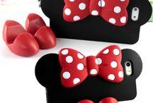 3D θήκες Minnie's Bow για iPhone 4S & 5S / Ακόμη ποιο τρισδιάστατες θήκες για το αγαπημένο μας iphone 4S & 5S