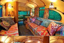 Bus/van living travel