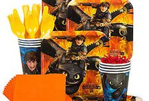 How To Train Your Dragon Party / Throw a party that is on fire with these ideas and decorations.
