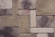 """Castle Stone: Dutch Quality / Similar to Limestone, our Castle Stone style has the more formal look of finely dressed masonry. Symmetrical shapes and clean-cut sides enable a tight dry stack installation. Sizing: Height: 3"""" - 15"""" / Length: 3"""" - 15"""""""