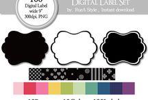 Digital Label Set / Digital Label Set