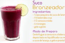 Sucos & Smoothies  / Receitas de sucos, vitaminas, chás e smothies. Delicia!