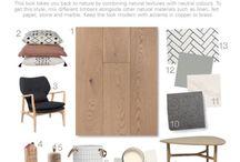 Moodboards / Interior design moodboards