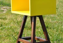 STOLIK AA ŻÓŁTY  ACOCO / Jeśli szukasz kolorowego, lekkiego stolika kawowego, lub potrzebujesz postawić przy sofie pomocnik na książki i gazety , stolik AA na pewno Cię nie zawiedzie. Świetnie spisuje się również jako stolik nocny czy podręczny stolik w przedpokoju. Zobacz również inne wersje kolorystyczne stolika AA! Zapraszamy do tworzenia razem z ACOCO ! http://pl.dawanda.com/product/64466231-STOLIKAA-KAWOWYSZAFKA-NOCNA-LUB-CO-TYLKO-CHCESZ