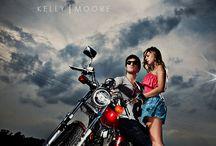 girl motorcycle photography