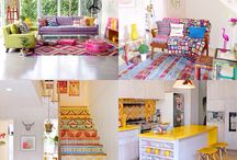 Colorfull furniture / My dream house