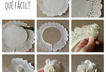 PAPER DOILY IDEAS